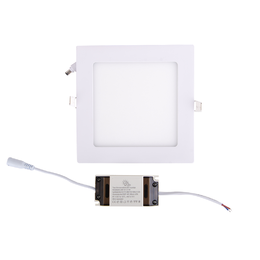 Led paneeli IP44 CRI90 12W, neliö