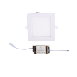 Led paneeli IP44 CRI90 9W, neliö
